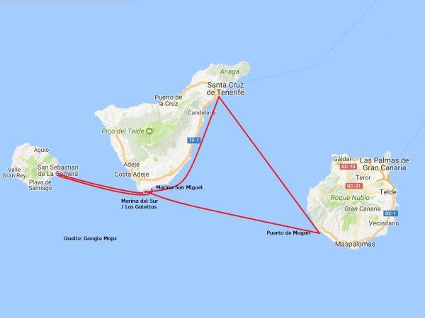 Kanaren 600x450 - Der letzte Törn - zurück nach Gran Canaria