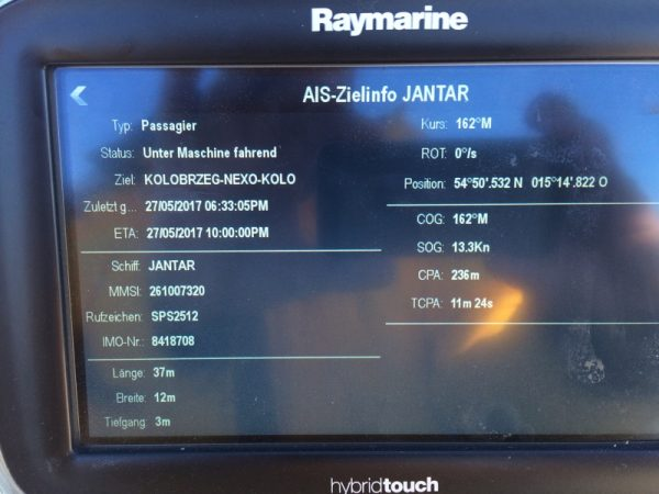 IMG 6354 600x450 - Radar und AIS - ein Webinar