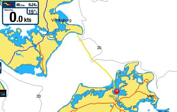 IMG 0028 600x381 - Ein perfekter Segeltag: Klintholm - Stralsund